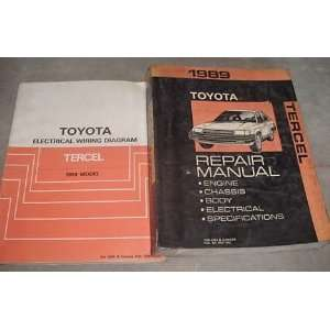 (service manual, and the electrical wiring diagrams) toyota Books
