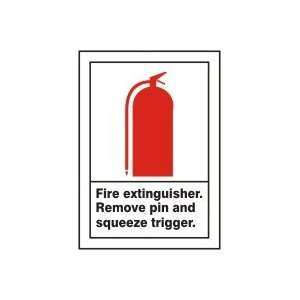 Sign,10x7 In,fire Extinguisher   ACCUFORM SIGNS Automotive