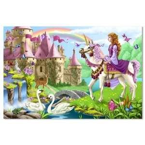 Fairy Tale Castle Floor Puzzle Toys & Games