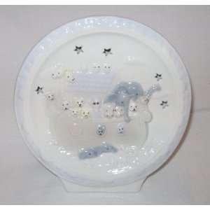 Babys Nursery Noahs Ark Large Porcelain Night Light