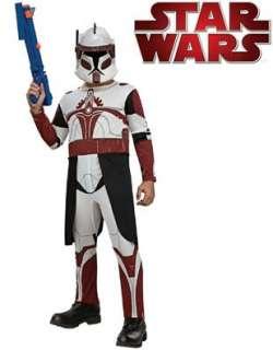 Childs Star Wars Clone Trooper Commander Fox Costume Clothing
