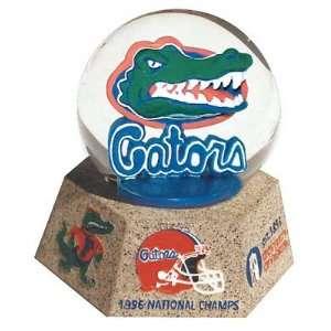 Florida Gators Musical Snow Globe with Stone Base
