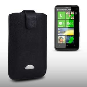 HTC HD7 TERRAPIN GENUINE LEATHER POCKET CASE BY CELLAPOD