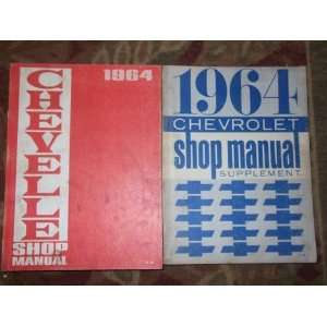 1964 CHEVROLET CHEVELLE Shop Service Repair Manual OEM SET