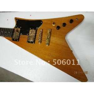 type of cool colored shaped electric guitar Musical Instruments