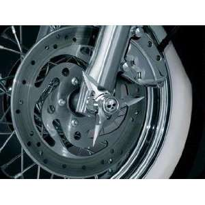 Zombie Blade Spinning Axle caps Chrome Harley Davidson Automotive
