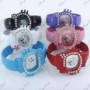 Hello Kitty Blue Bracelet Watch Dk47 bl Quartz and a Hello Kitty