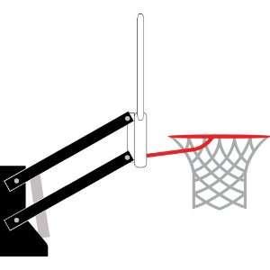 Basketball Hoop Vinyl Wall Decal