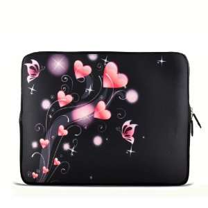 Pink Heart 9.7 10 10.1 10.2 inch Laptop Netbook Tablet