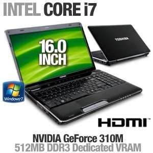 Laptop Computer   Intel Core i7 720QM 1.6GHz, 4GB DDR3, 500GB HDD