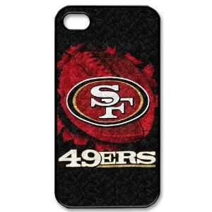 : iPhone 4/4s Covers San Francisco 49ers logo hard case: Cell Phones
