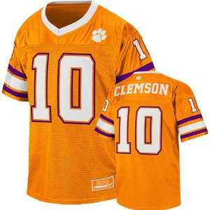 Clemson Tigers Youth Orange Stadium Football Jersey