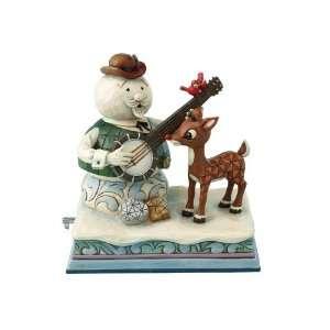 Jim Shore Rudolph & Sam the Snowman Musical