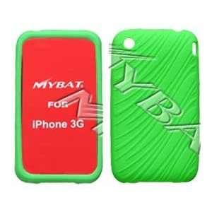 iPHONE 3G 2ND GENERATION Wave (Dark Green) Design Skin Case