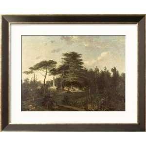 The Cedar of Lebanon in the Jardin des Plantes Framed Art