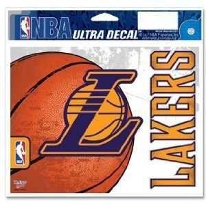NBA Los Angeles Lakers Window Cling