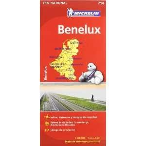 Benelux Mapa National 714 (9782067170582) AA.VV. Books