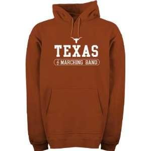 Dark Orange Marching Band Hooded Sweatshirt