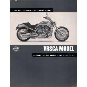 2002 Harley Davidson VRSCA Service Manual Harley Davidson