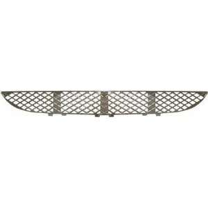 00 02 MERCEDES BENZ E320 e 320 FRONT BUMPER GRILLE, Center, Chrome, w