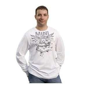 MINI Cooper Mens Long Sleeve Tattoo Tee  European Size Large
