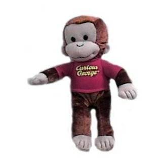 Curious George Monkey Large Plush Doll Stuffed Toy 16