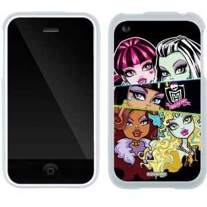Monster High   5 Girls design on iPhone 3G/3GS Slider Case