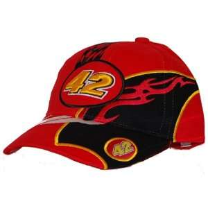 #42 JUAN PABLO MONTOYA NASCAR TEAM COLOR HAT: Everything Else