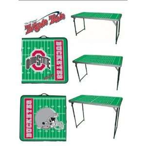 New Ohio State Buckeyes OSU Tailgate Party Team Table