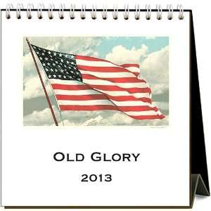 Old Glory 2013 Easel Desk Calendar: Office Products