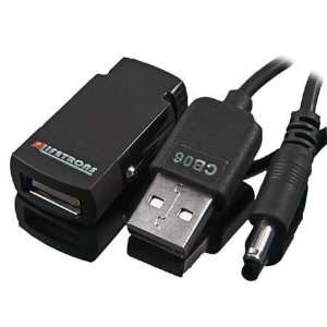 Lifetrons Ultra Slim Micro Car Charger with USB for Mobile Phones, PDA