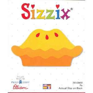 Sizzix Originals PIE Die RED 38 0909:  Home & Kitchen
