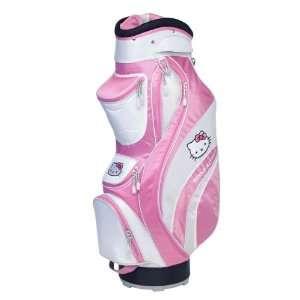 Hello Kitty Golf Mix & Match Cart Bag Pink/White Sports