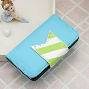 Korea Cute PU Leather Wallet Case Cover for iPhone4/4s