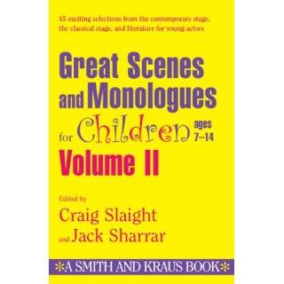 Great Scenes and Monologues for Children (Young Actors