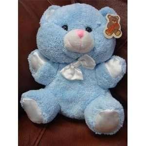 TEDDY BEAR 7 INCHES PLUSH STUFFED TOY 7 BLUE BEAR