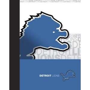 Detroit Lions 6 NFL School Portfolios