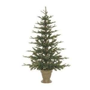 Pre lit Flat Christmas Tree, 4