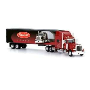 Peterbilt 379 Tractor Trailer Mural Truck 150 scale Toys & Games