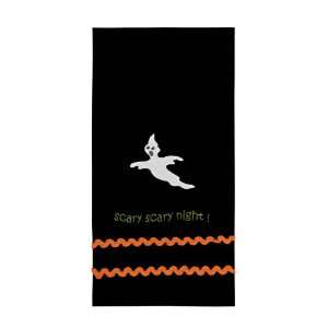 IHF Country 100% Cotton Scary Scary Night Halloween Dishtowels for