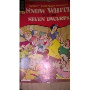 Walt Disney Presents Smow White and the Seven Dwarfs (Gold