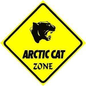 ARCTIC CAT ZONE sign * street animal ski jet