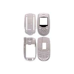 Silver Full Housing for Kyocera Slider SE44, SE47 Home