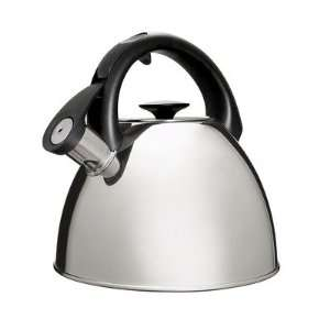 Click Click Tea Kettle   Polished Stainless Steel Kitchen