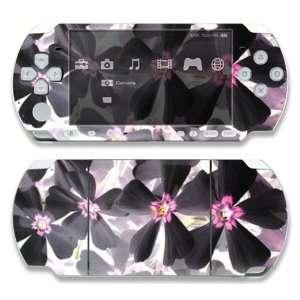Sony PSP Slim 2000 Decal Skin   Asian Flower Paint