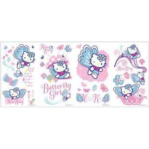 Hello Kitty Peel & Stick Wall Decals Toys & Games