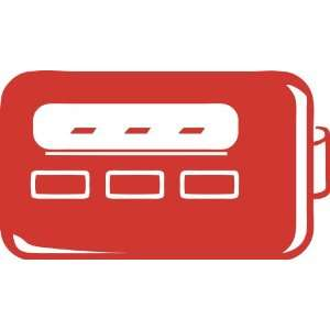 Pager Removable Wall Sticker