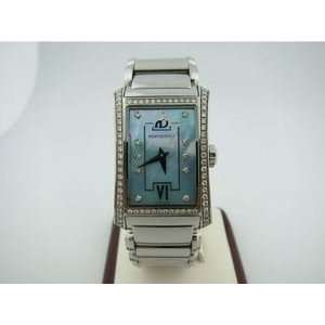 LADIES DIAMOND STAINLESS STEEL WRISTWATCH watch Arts, Crafts & Sewing