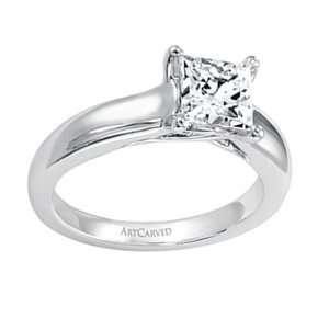 14k White Gold, Tanzanite & Diamond Ring (0.35 ctw