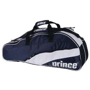 Prince 11 T22 Team 6 Pack Tennis Bag (Navy/White) Sports